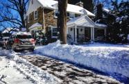 Snow Shovelled driveway